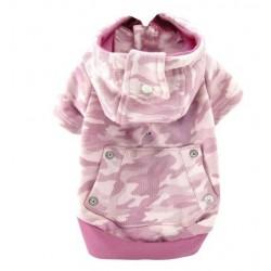 Camo Hoody Pink
