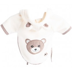 Sparkling Teddy Bathrobe
