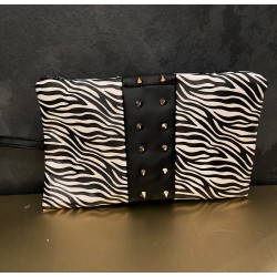 GLAMOUR clutch in ecopelle
