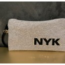 NYK GREY clutch