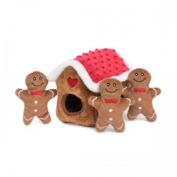 Gioco ZIPPY PAWS HOLIDAY ZIPPY BURROW - GINGERBREAD HOUSE