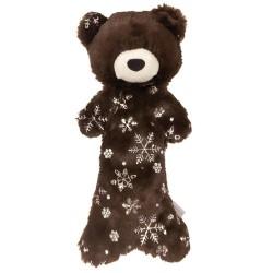 Gioco FOUFOU DOG METALLIC FROST STUFFLESS CRINKLE TOY BEAR