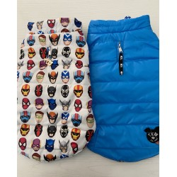 SUPERHERO bi-color eco double jacket