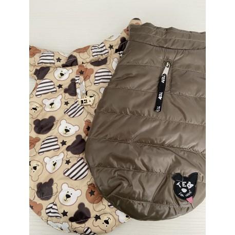 SWEET BEARS bi-color eco double jacket