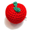 Gioco Crochet Mela Toy Apple