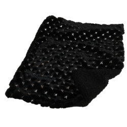 My Paillette Blanket Black