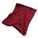 My Paillette Blanket Deep Red