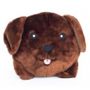 Gioco Zippy Paws SQUEAKIE BUNS - CHOCOLATE LAB