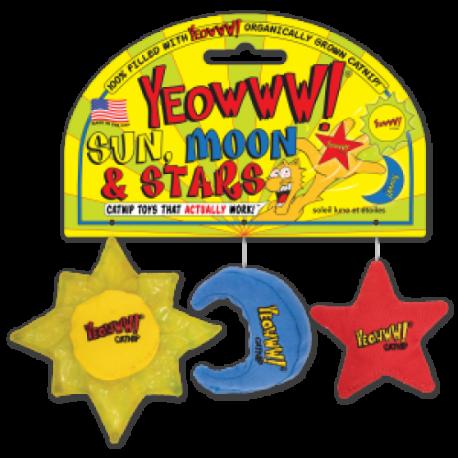 SOLE LUNA STELLA SET 3 PZ. - SUN MOON AND STARS (3 PCS)