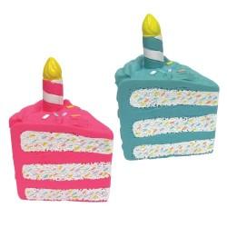 BIRTHDAY CAKE CHEW TOYS (2PCS. ASS.)