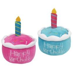 BIRTHDAY CAKE PLUSH TOYS (2PCS. ASS.)