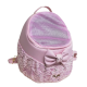 Back/Front /Car Egg Pink+bow+Lace on the net