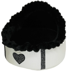 Heart Igloo White+Black