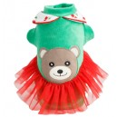 Sparkling Cherry Bear Dress - girl