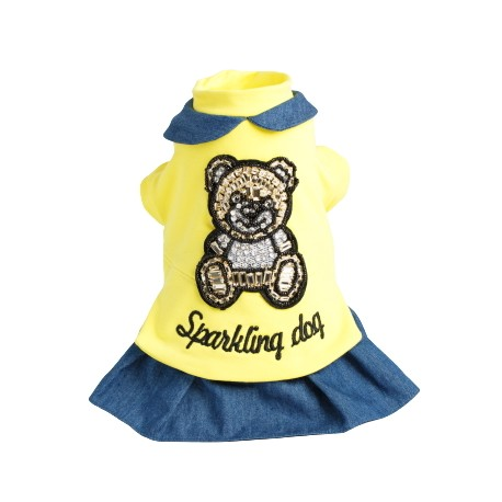 Sparkling iconic Bear jeans -girl