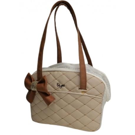 Summer-Life bag Matelassè Beige