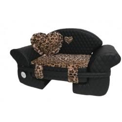 The Sofa Square Black +leo