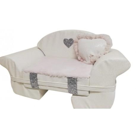 The Sofa Moza White