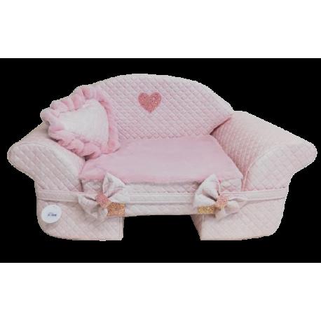 The Sofa Teo Pink+Pink