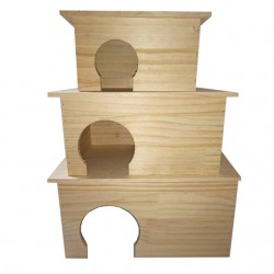Casetta in legno per roditori