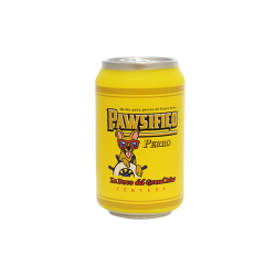 TUFFY SILLY SQUEAKER BEER CAN PAWSIFICO PERRO