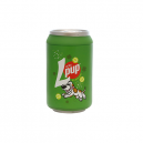 TUFFY SILLY SQUEAKER SODA CAN LUCKY PUP