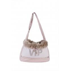 Vip Rose fur bag