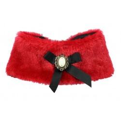 Fur Cape Red