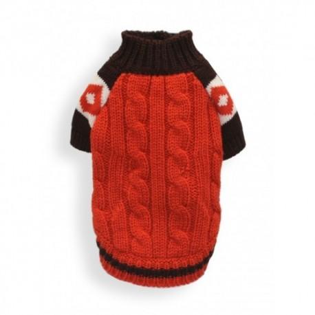 Ski Lodge Sweater Orange