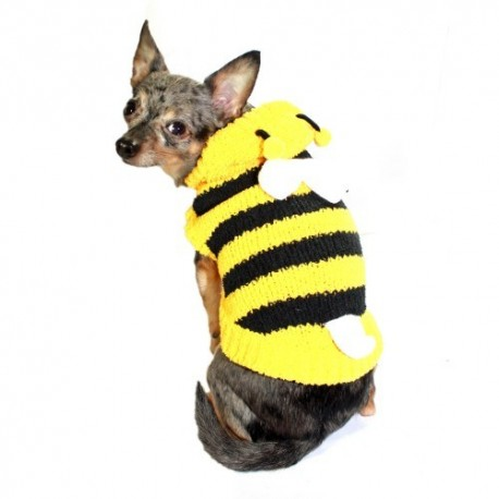 Bumble Bee Chenille Hoodie