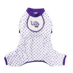 Pajamas - Elephant Purple