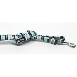 Dogue Guinzaglio Striped Lead Blue/Black