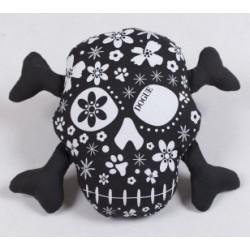 Dogue gioco toy Skull Black/White