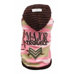 Major Trouble Hoodie Pink