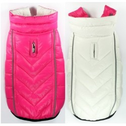 Featherlite Reversible Pink/White