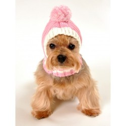 HD Crown Knit Hat Pink