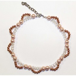 GRACE Necklace - Collana Pink