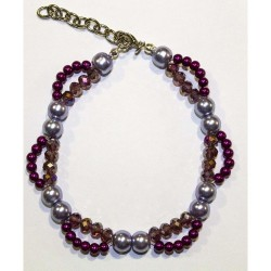 GRACE Necklace - Collana Purple