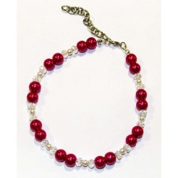 MARILYN Necklace - Collana Burgundy