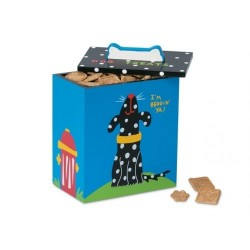 Black and White Dog Treat Box