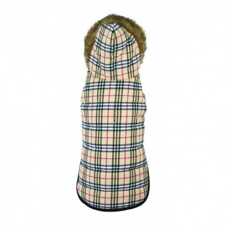 FLEECED LINED COAT Up Country Plaid