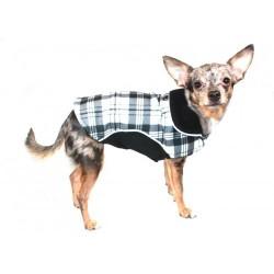 Fleece Wrap Coat Black