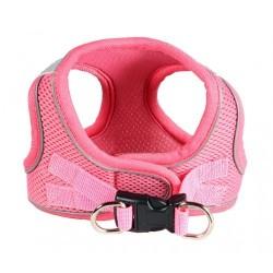 Sport Mesh Pink EZ Reflective Harness Vest