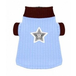 Blue Star Turtleneck