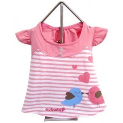 Miss Lovebird Dress Pink
