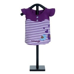 Miss Lovebird Dress Purple