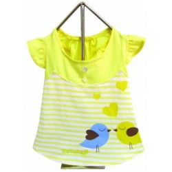 Miss Lovebird Dress Yellow