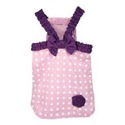 Miss Polka Dot Dress Lilac