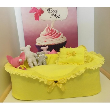 Yellow Grace Bed