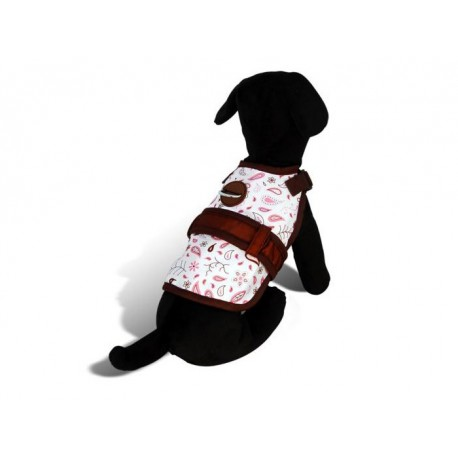 Floral Fling dog harness